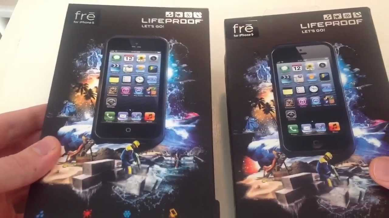 how to tell if a lifeproof case is fake for iphone youtube