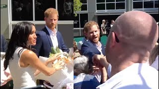 Fitzy & Wippa get FLOWERS to Prince Harry & Meghan Markle!!!