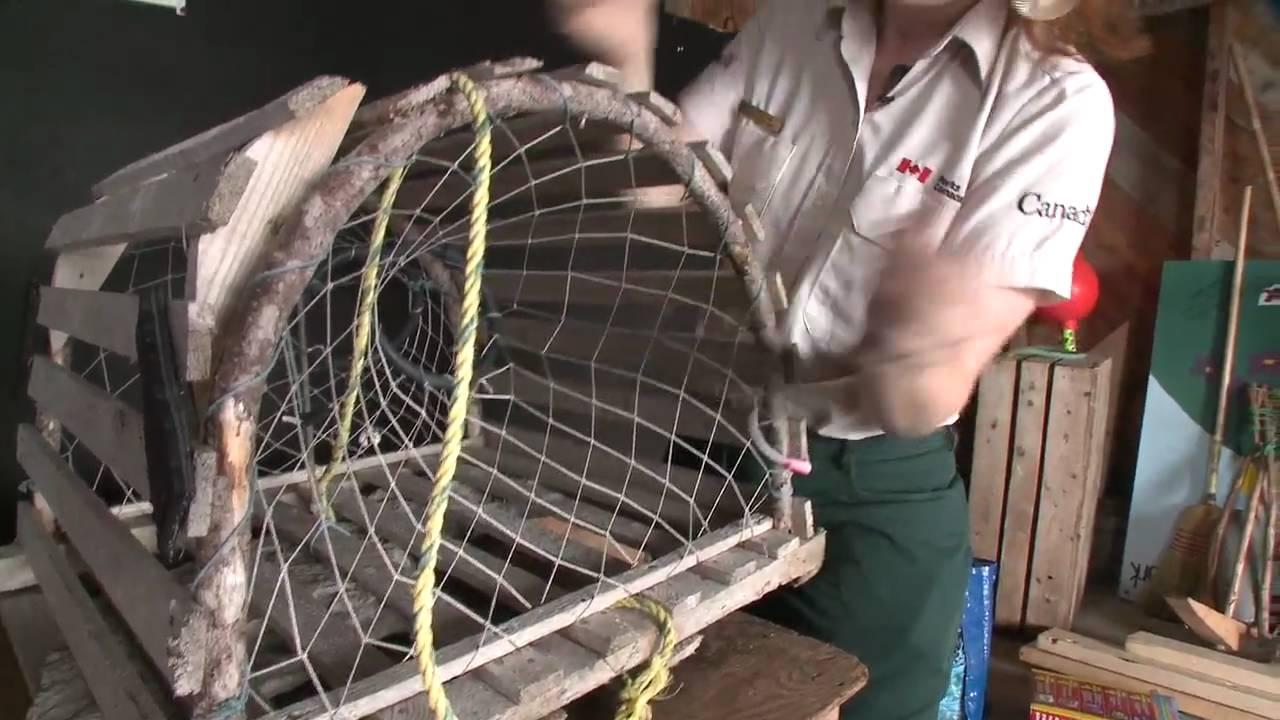 Build a Lobster Trap - Newfoundland and Labrador, Canada ...