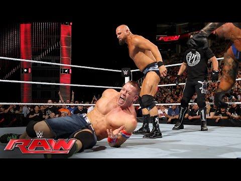 John Cena vs. Karl Anderson: Raw, June 20, 2016