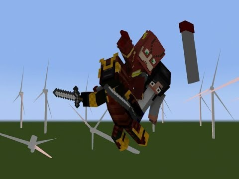 Flash vs Samurai | Minecraft Flash