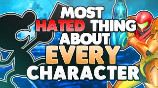 The MOST HATED THING about EVERY CHARACTER | Super Smash Bros. Ultimate