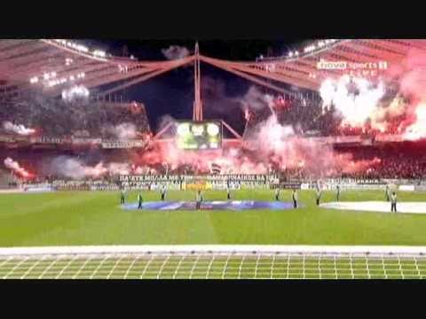 70000 FANS - OAKA stadium - PANATHINAIKOS-OLYMPIAKOS 2-1 GOALS AND HIGHLIGHTS 30/10/2010