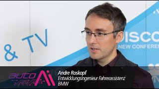 Auto.AI 2018 - Interview with André Roskopf (BMW Group)