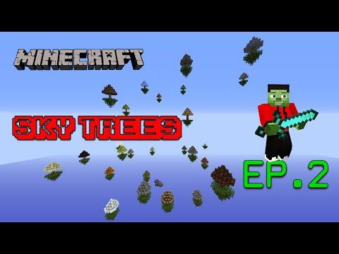 Mapa de Supervivencia 1.8/1.9 - Sky Trees EP.2   Minecraft