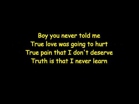 Ella Henderson - Ghost Lyrics video