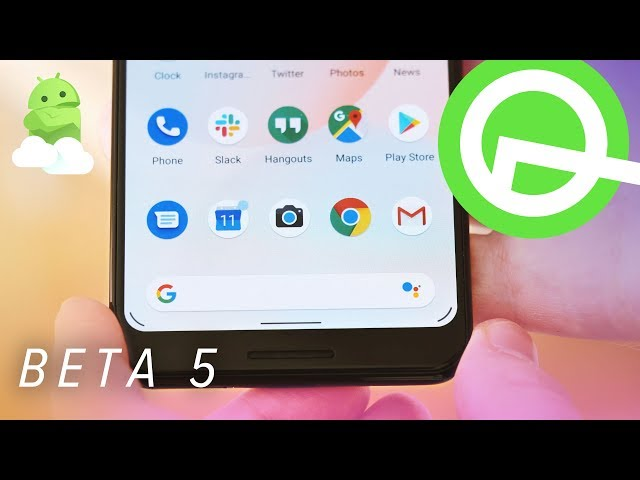 Android Q Beta 5 New Gestures  Top Features