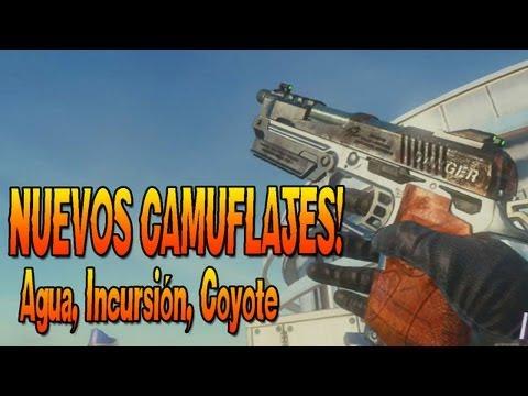 NUEVOS CAMUFLAJES!! Agua, Incursión y Coyote! - Pack de Personalización - Black Ops 2