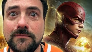 CRYING DURING THE FLASH SEASON 1 FINALE (Kevin Smith Reacts)