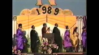 1989 Norwalk High School Graduation NHS - California