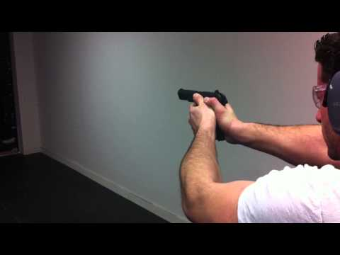 Firing the Yugoslavian Tokarev M57 semi auto chambered for 7.62x25