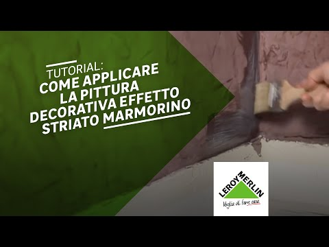 Pittura decorativa marmorino youtube for Leroy merlin pittura pareti