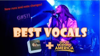 BEST VOCALS: Sweetener Session NYC & GMA Performance - Ariana Grande