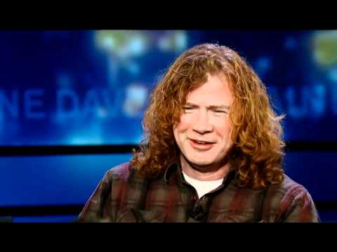 Dave Mustaine On Religion, And Alice Cooper: