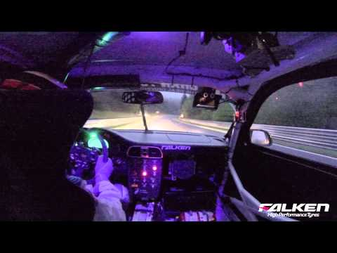Falken Motorsports Onboard 24h-Race 2013 Friday qualifying
