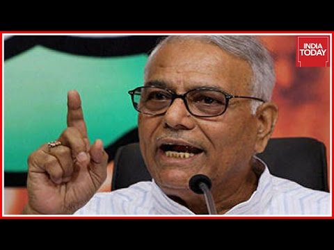Yaswant Sinha Lashes Out At Narendra Modi Over His Foreign Policies