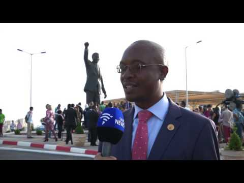 Nelson Mandela's statue unveiled in Palestine