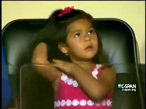 Daddy's Girl! Julian Castro's Daughter, Carina Victoria, Flipping Her Hair During DNC Keynote Speech