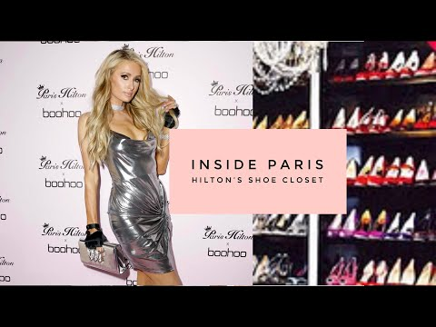 Inside Paris Hilton's Shoe Closet