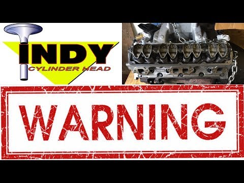 DO NOT BUY FROM INDY CYLINDER HEAD