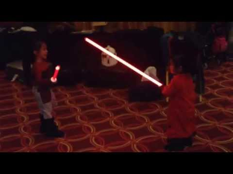 Baby Ahsoka Tano VS Baby Queen Amidala at the May The 4th Event in Resorts World Manila