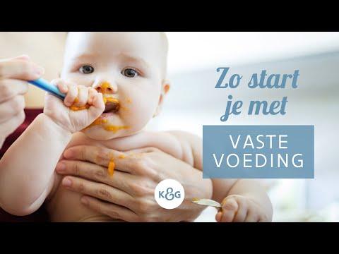 hoeveel gram eten baby 6 maanden