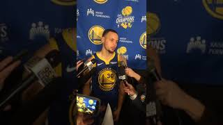 Steph Curry Postgame Interview Warriors vs Denver 15/01/2019