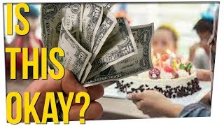Woman Charges Entrance Fee for Daughter's Birthday Party?!