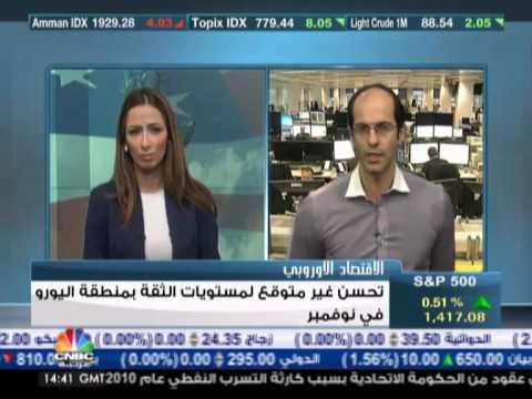 أشرف العايدي على سي ان بي سي عربية --  29 نوفمبر2012 Chart