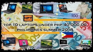 Best Budget gaming laptop under PHP 40,000 summer 2018 PHILIPPINES