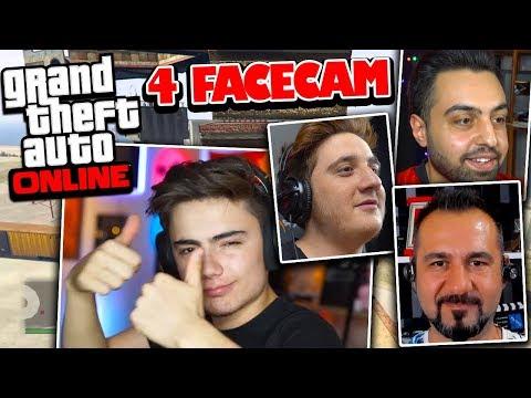 FURKAN VE EKİP GERİ DÖNDÜ !! (4 FACECAM!) - GTA 5 Online (FurkanYaman,Sesegel,Umidi)