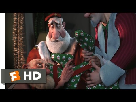 Arthur Christmas (10/10) Movie CLIP - All The Santas (2011) HD