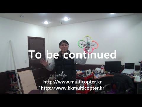 KKMultiCopter Bluboard + WMP Gyros