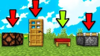 INDOVINA IL BLOCCO INTRUSO in Minecraft ITA