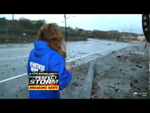 Staten Island Tanker Washed Ashore By Hurricane Sandy