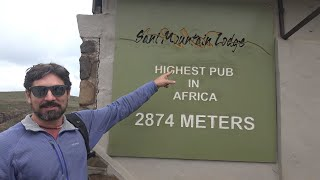 AFRICA'S highest PUB and diving with SHARKS at Aliwal Shoals! Sailing Vessel Delos Ep. 138