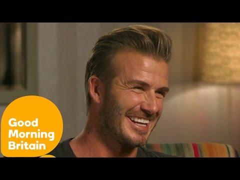 David Beckham Interview With Susanna Reid | Good Morning Britain