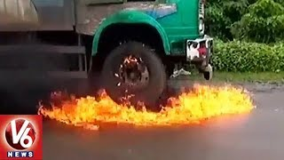 Dairy Farmers Protest In Maharashtra, Burnt Milk Tankers | Demands Milk Price Hike