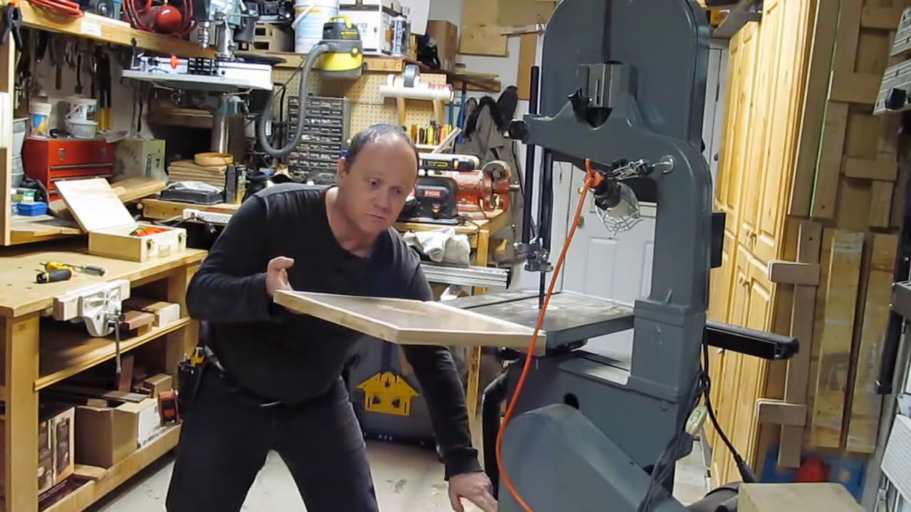 Fabrication d 39 une rallonge de table de scie a ruban youtube - Fabrication d une table ...