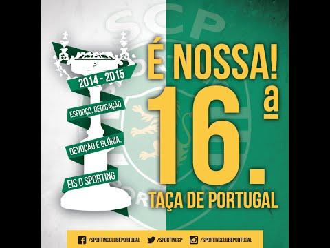 Sporting 2 - 2 Braga ( PEN: 3-1 ) Relato Antena 1 |  Taça de Portugal - Final - 31/05/2015