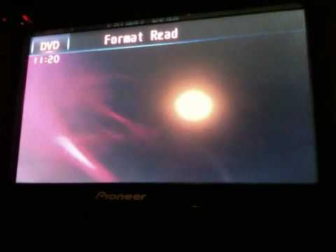 Pioneer AVH-P3100 DVD no video FIX