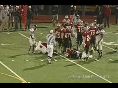 Matt Deiana Jr./Sr. Year Offensive Highlights Somers HS, NY Class of 2010 #21.