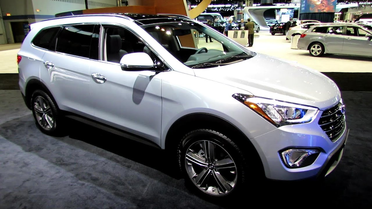 2014 hyundai santa fe limited awd exterior and interior walkaround 2014 chicago auto show. Black Bedroom Furniture Sets. Home Design Ideas