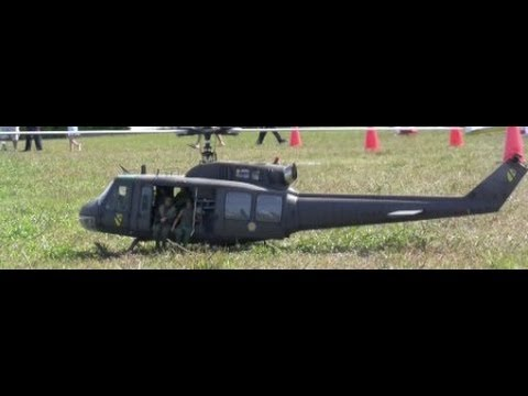 UH 1 Huey D Scale Turbine Helicopter With Onboard Camera
