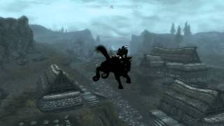 Skyrim Flying Horse