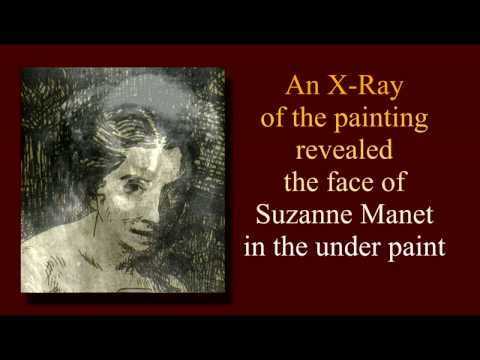 Edouard Manet's Lost Painted Study of La Toilette Found by X-ray/ Victorine Meurent -Part  2