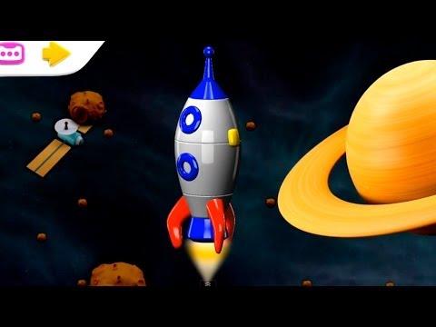 Build and Play - 3D ROCKET: Kids Educational Puzzles ipad. iphone App Demo (Дети построить и узнать)