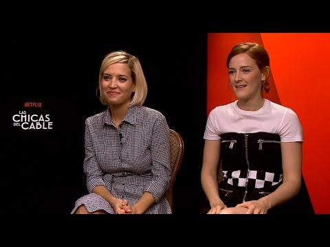 Las Chicas Del Cable | Charlamos con ANA POLVOROSA y ANA FERNÁNDEZ | Netflix