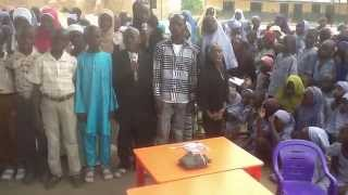 DR NDUBUISI EGWIMS PROJECT: school children at Katcha LGA,Niger State