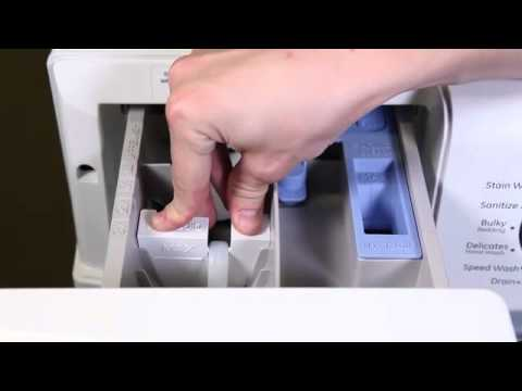 Front Load Washer Dispenser Drawer